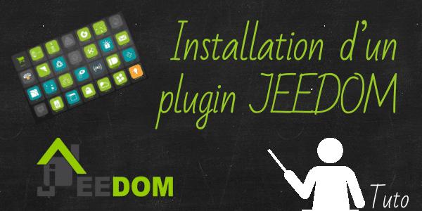 Installer un plugin jeedom