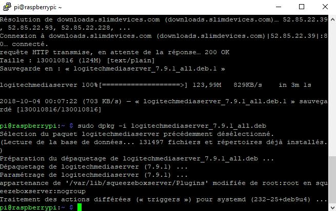 squeezebox server install 2