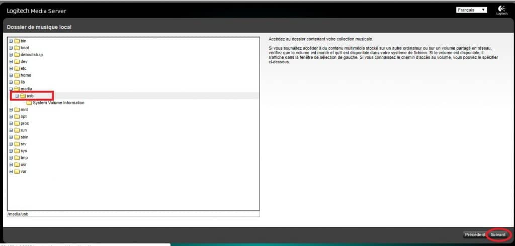 logitech media server installer 2