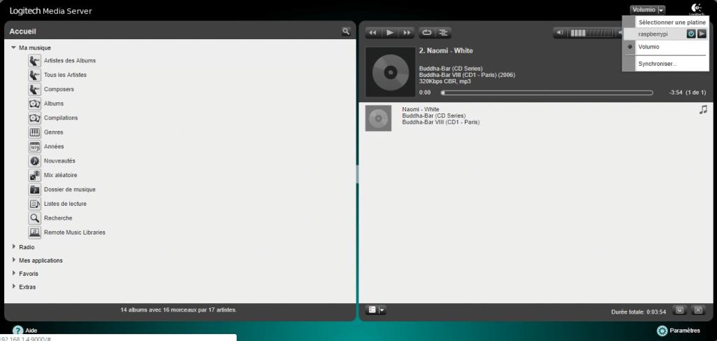 LMS interface